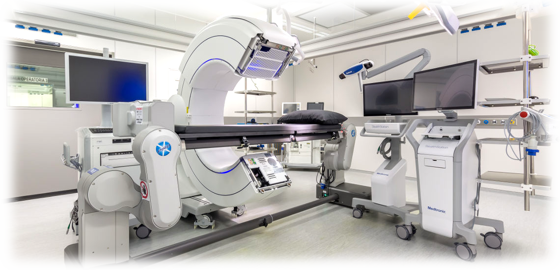 Neuronavigatore O-ARM Medtronic